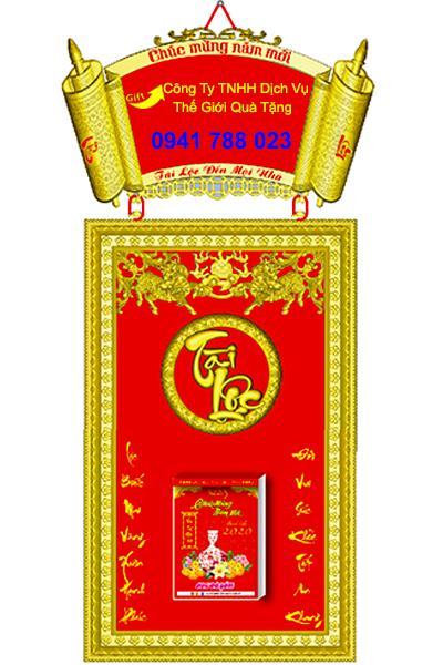 Báo giá lịch khung mạ vàng cao cấp biên hòa