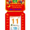 Đặt in quảng cáo lịch bloc đại tp.hcm giá rẻ