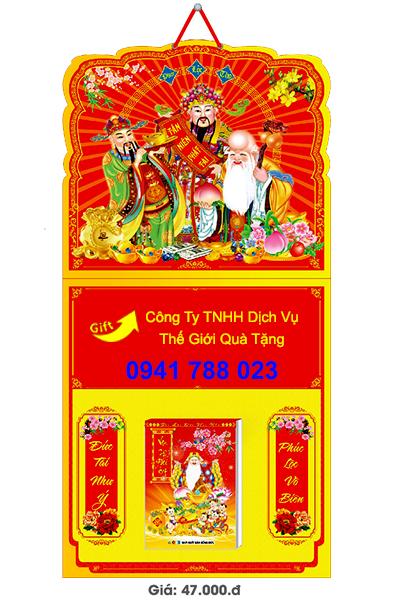 Báo giá in quảng cáo lịch bloc treo tường giá rẻ tp.hcm