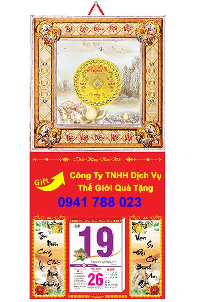 thiết kế bìa lịch khung mạ vàng cao cấp tp.hcm